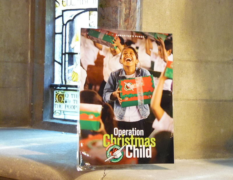 Operation Christmas Child: Have you got your shoebox ready?