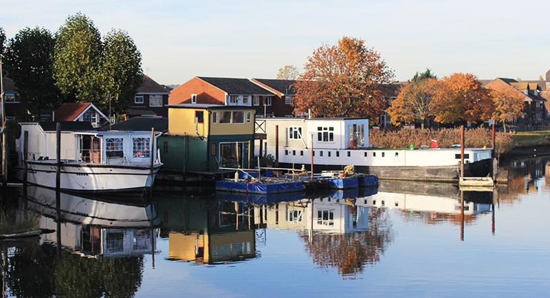 Living on the water is becoming an increasingly popular method to keep living costs down