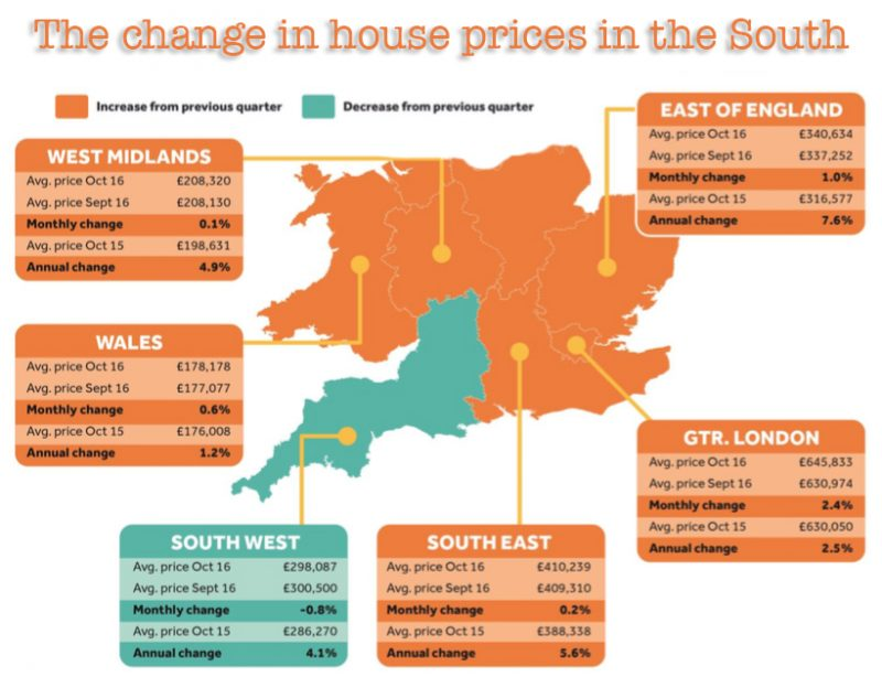 House prices in the UK are as high as ever, meaning deposits and mortgage repayments can be crippling Information from Rightmove