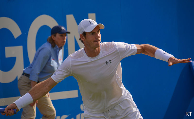 Mighty Murray isn't looking to rest as he is expected to head to Miami for pre-season training in the coming weeks Source:By Carine06 from UK (Andy Murray) [CC BY-SA 2.0 (http://creativecommons.org/licenses/by-sa/2.0)], via Wikimedia Commons