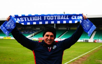 Martin Allen unveiled as Eastleigh manager