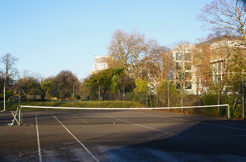 You probably won't see Andy Murray training at Southampton's East Park courts but you could see more and more people using courts like these