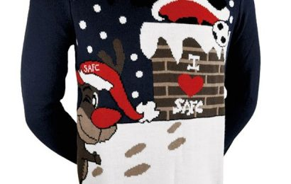 The race for the Christmas Jumper Number 1