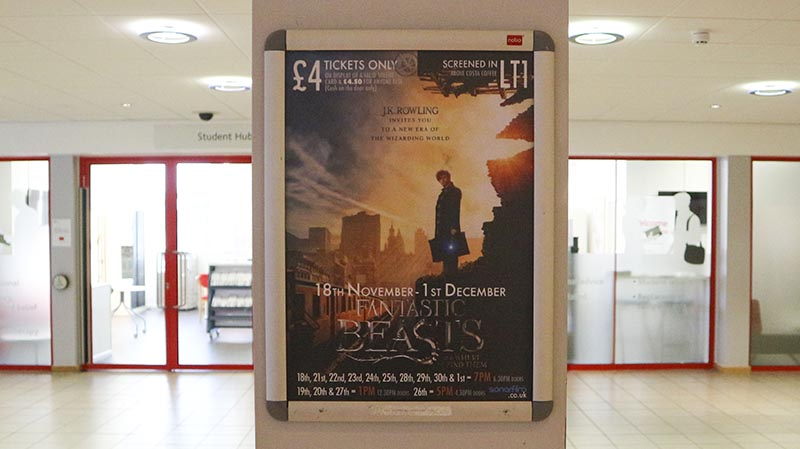 Solent University's cinema society Sonar Film have been showing the film since release day.