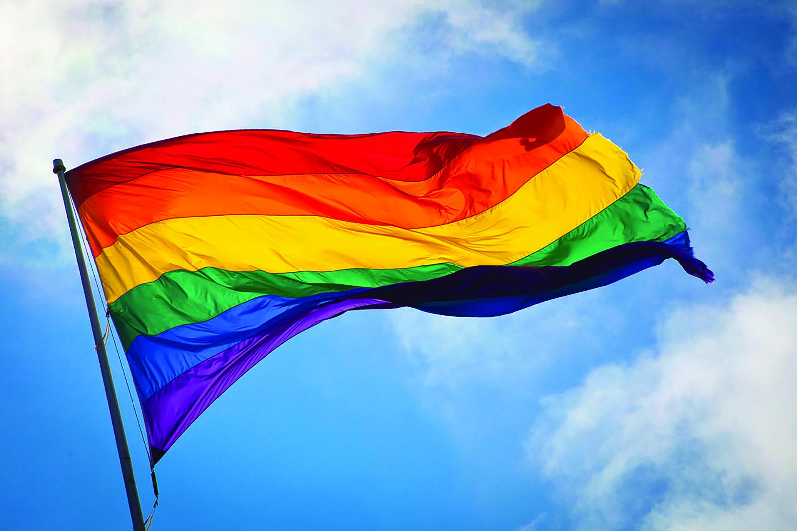 LGBT Flag: (Source Benson Kua)