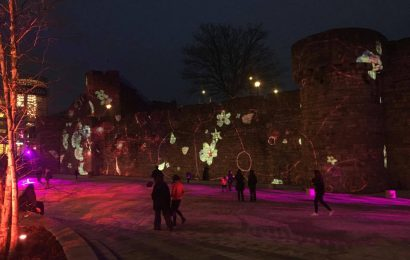 Interactive lights festival held in Southampton