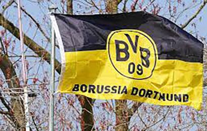 Borussia Dortmund's famous 'Yellow Wall' suspended for the weekend.
