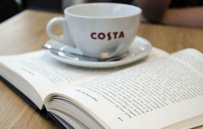 Costa book awards boost book sales