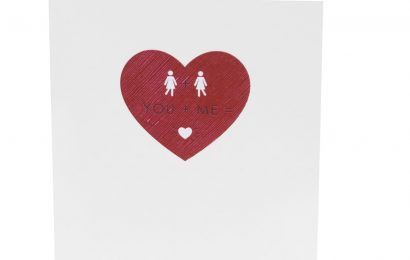 Sainsbury's release same sex cards for Valentine's Day