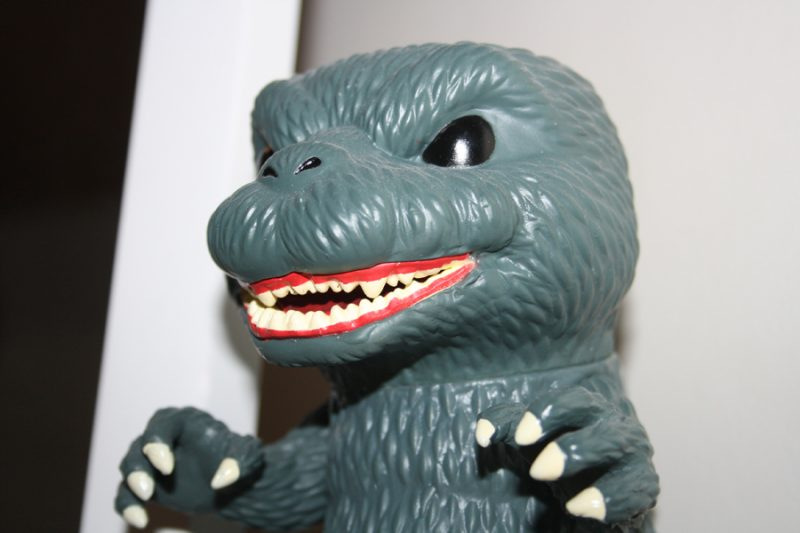 Godzilla is known for its radioactive breath.