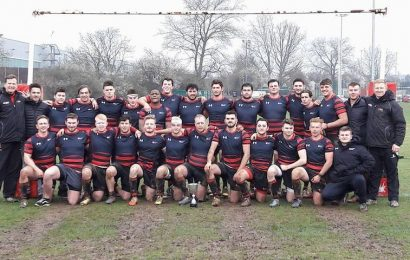 Southampton Solent rugby side win league.