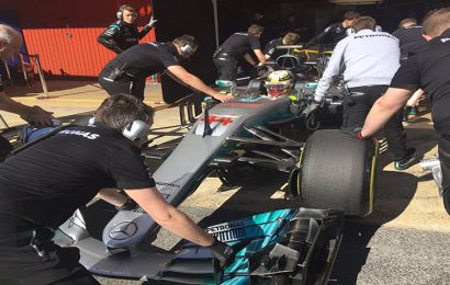 Live updates of the final week of F1 testing: Day 1