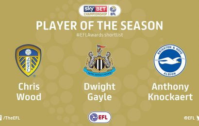 Championship Player of the Season shortlist revealed