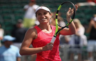 Konta progresses to the quarter-final of the Miami Open for a second consecutive year