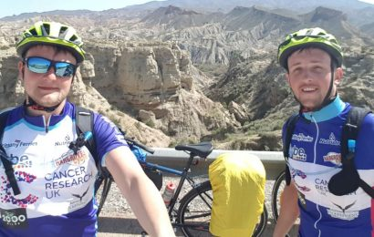 Two brothers begin journey of a lifetime