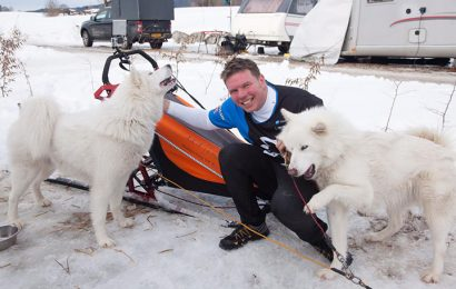 Brighton businessman heads to the slopes