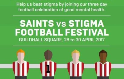 Saints v Stigma: council to host event to help tackle mental health issues