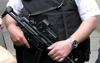May urged to arm police across the UK