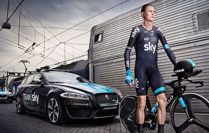 Chris Froome knocked from his bike in alleged hit and run attempt.