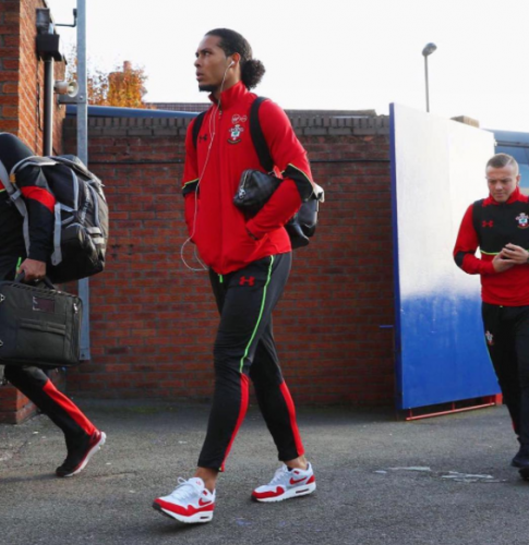 Van Dijk could be departing St Mary's if Puel doesn't leave. Via Instagram (@virgilvandijk)