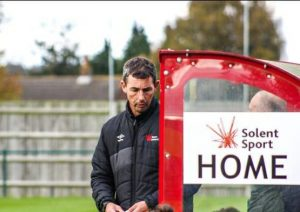 Team Solent manager Jim Taylor see's his side get back to winning ways PHOTO CREDIT: Tom Mulholland