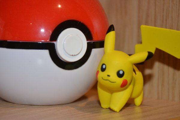 Pokémon's mascot - Pikachu.