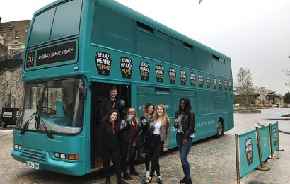 Heinz Beans Bus Arrived In Southampton