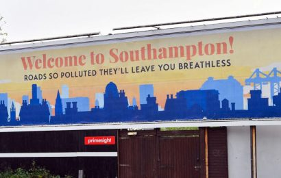 Southampton roads are taking our breath away