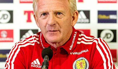 Strachan parts ways with Scotland following failure to qualify for Russia