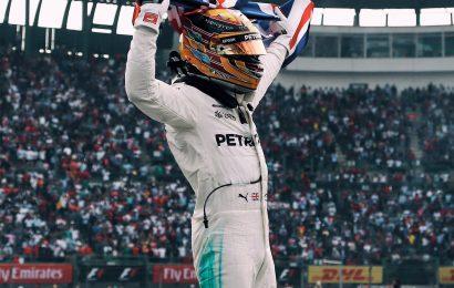 Lewis Hamilton wins fourth World title
