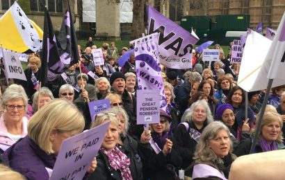 Meet the WASPI women against pension state