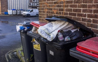 Will the streets be littered with rubbish in Southampton over Christmas?