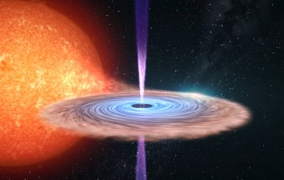 University of Southampton Scientists penetrate mystery of 'black hole beams'