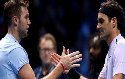 ATP Finals: Roger Federer beats Jack Sock