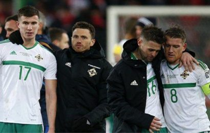 Northern Ireland World Cup Dream ended by Switzerland