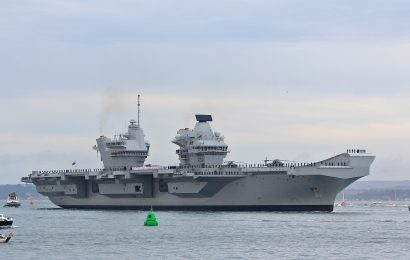 Portsmouth hosts commissioning ceremony of new aircraft carrier – HMS Queen Elizabeth