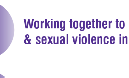 Southampton stand together against domestic violence.