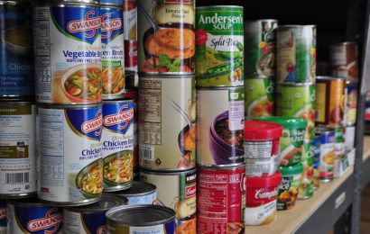 Conservative MP opens food bank, opens himself to criticism