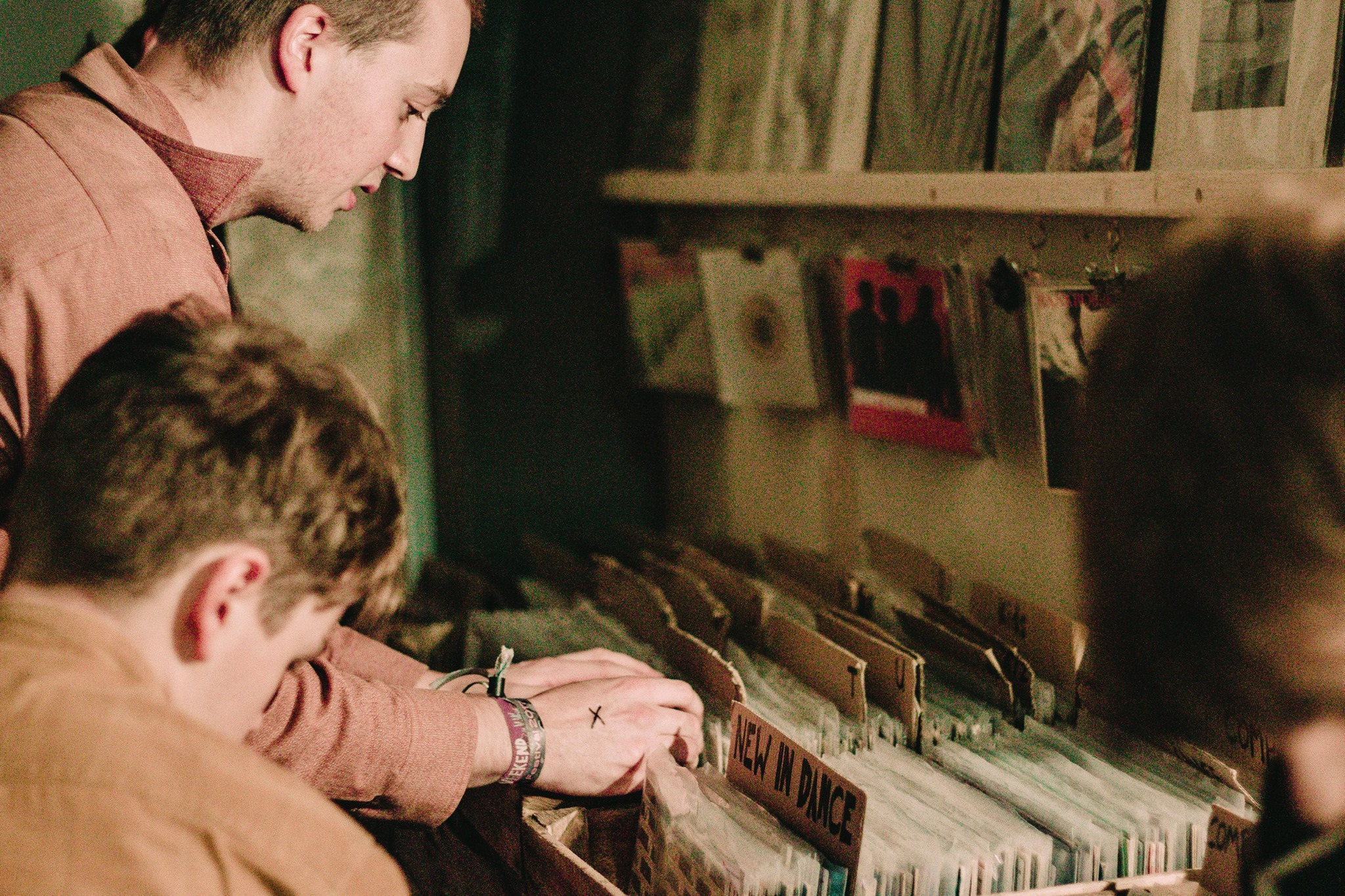 Vinyl records have recently had a boom in sales
