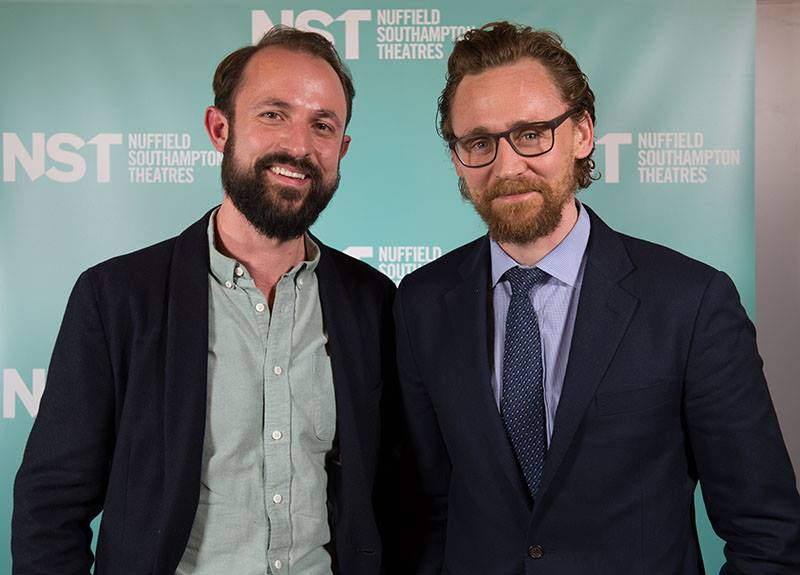 Hollywood actor Tom Hiddleston attended the premier of 'The Shadow Factory' last week.