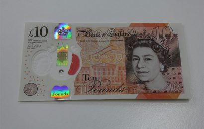 End of the old £10 note