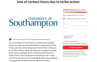 Students petition for compensation ahead of strikes