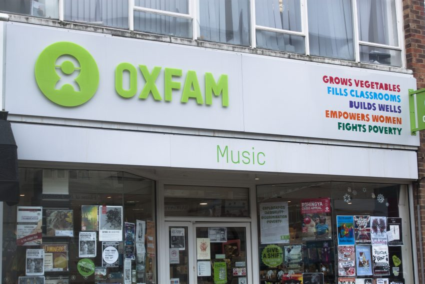 Oxfam operates 750 charity shops in the UK, with around 100 being specialist music or bookshops