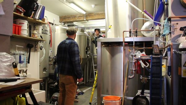 Dancing Man Brewery started out with only two fermenters but has since grown to seven.