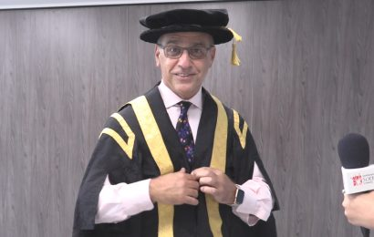 Former Dragon Theo Paphitis becomes Solent University's new Chancellor