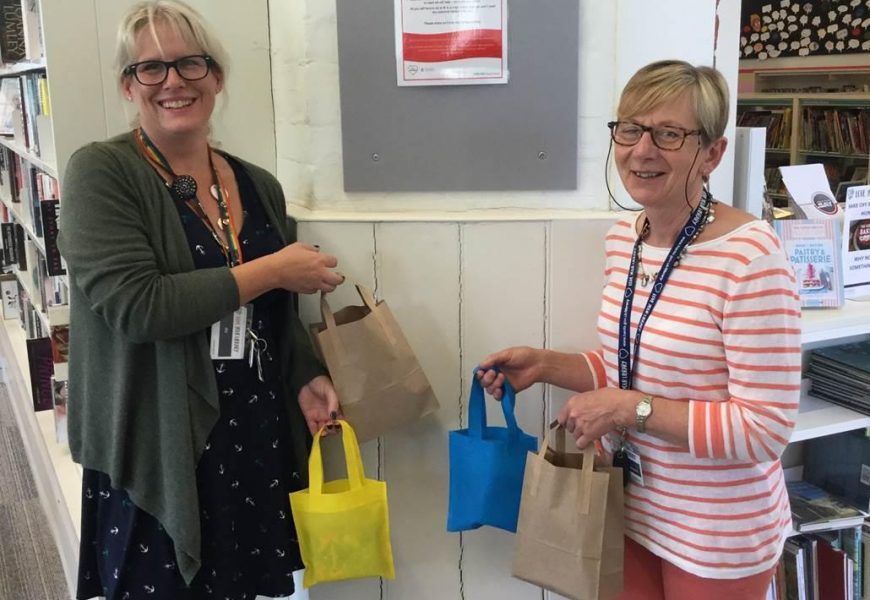 Romsey Library launches 'Tricky Period' Scheme