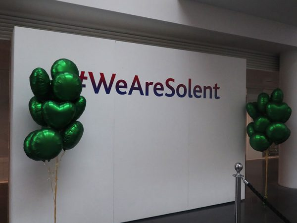 Today Southampton Solent University held a mental health day awareness event, to help encourage students to open up