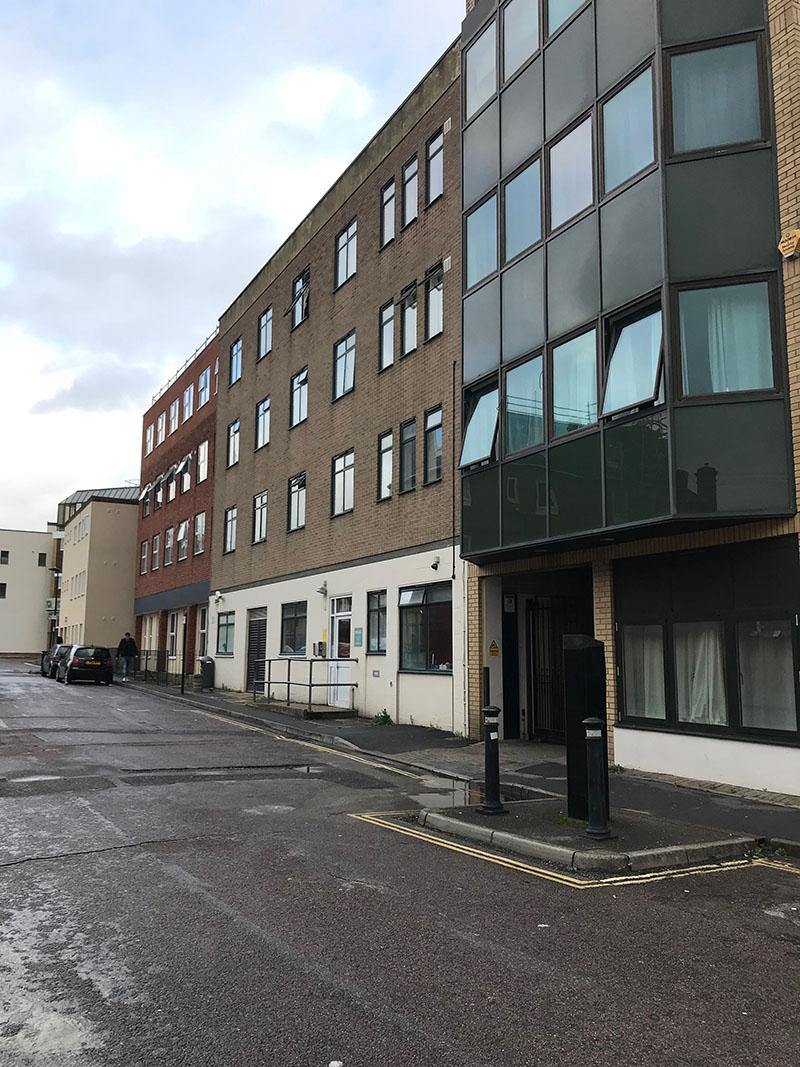 10 Southampton street, the society of St James hostel (above)