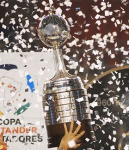 The Copa Libertadores will be at stake in Spain for the first time ever. Photograph: Gerardo Lazzari