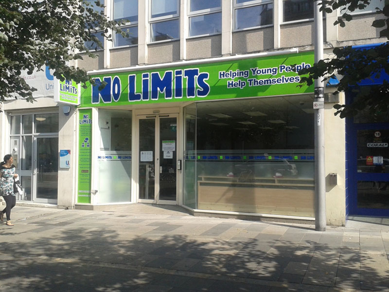 No Limits is a charity that helps those who are vulnerable in any aspect of their life, not just mental health